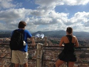Photo from the English department's Spoleto study abroad program