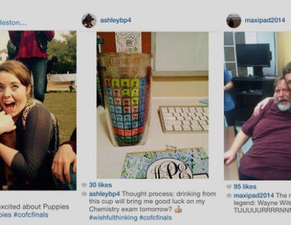 What #CofCFinals Prep Looks Like on Instagram