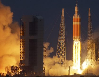 Orion Launch Offers Infinite Possibilities for Professor and Alumnus