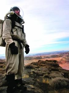 David Weiss '12, Mars researcher