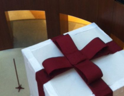 What's in the Giant Gift Box? Surprise Unveiled Thursday, January 22