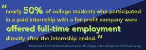 internships pullquote