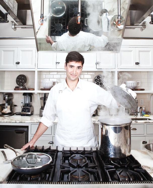 Salim Hajjar, Culinary Club, College of Charleston