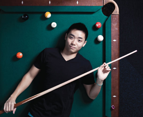 Terry Pang, Billiards Club, College of Charleston