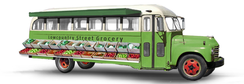A rendering of the Lowcountry Street Grocery mobile farmers' market.
