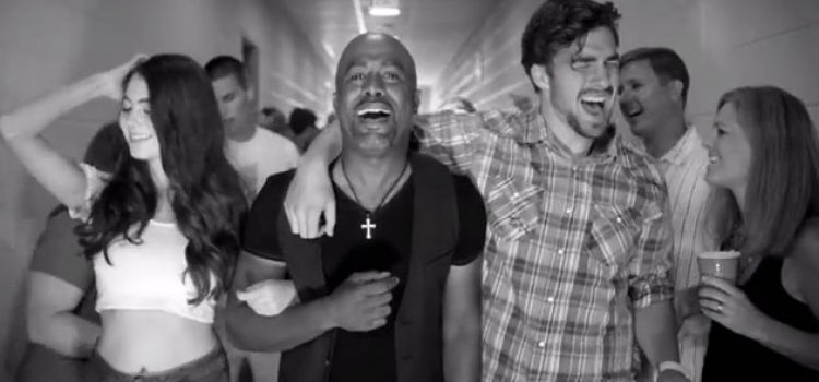 CofC Student Rocks with Darius Rucker in New Music Video