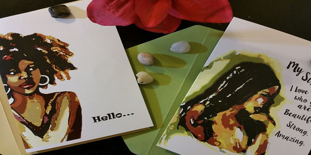 Robyn Palmer's Greeting Cards featuring her original art