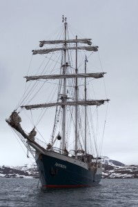 Vanessa Albury called the tall ship Antigua her home for three weeks as she explored the Arctic Circle in 2014.