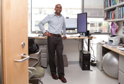 On the Rise: Stand-Up Desks Gain Converts at College of Charleston