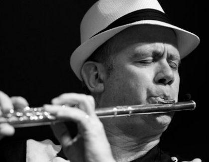 Music Professor Recognized as  Top Jazz Flutist
