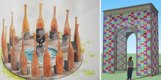 Students Design Monuments for Slave Trade Memorial
