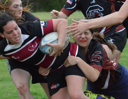 Rugby Team 'Scrums' its Way to Top 5 Finish