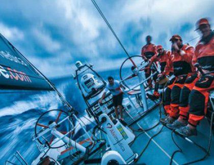 Alum Living on the Edge in the Volvo Ocean Race