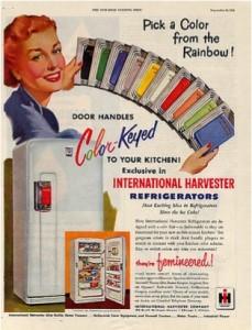 modern design fridge