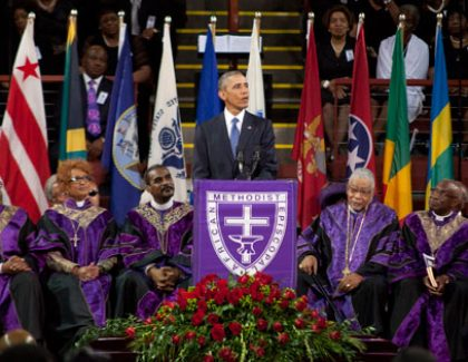 President Obama Celebrates the Life of S.C. Sen. Clementa Pinckney