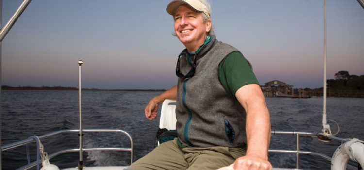 Geologist Takes the Helm in Offshore Education
