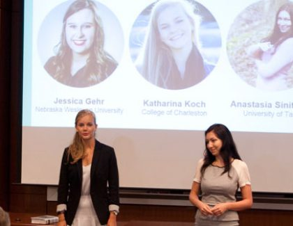 Student Tech Entrepreneurs Pitch Big Ideas