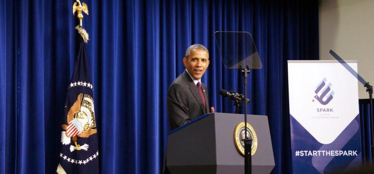 """Obama Honors CofC Alum as """"Global Entrepreneur"""""""