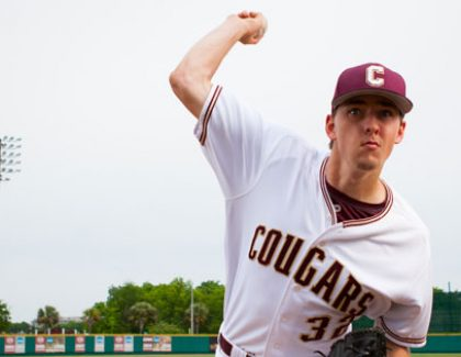 Taylor Clarke is CofC Baseball's Highest-Ever Draft Pick