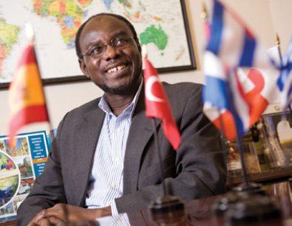 CofC's Global Ambassador for International Education