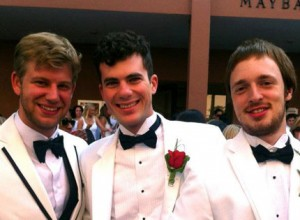 Tender's founders are 2012 CofC grads, (left to right) David Blumenfeld, Necco Ceresani and Jordan Homan.