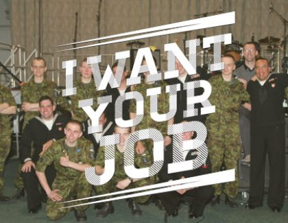 I Want Your Job: Singer with the U.S. Navy