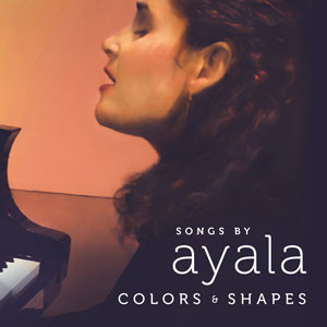 Ayala Asherov's new CD, Colors & Shapes, was produced by Mark Bryan of Hootie & the Blowfish.