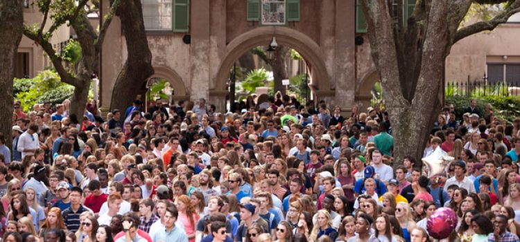 Convocation 2015: New Students Begin CofC Journey