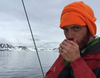 Alum Braves Arctic to Pen First Novel