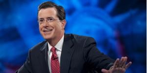 Comedian Stephen Colbert.