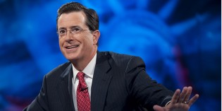 The 'Real' Stephen Colbert Prepares for Late Night Debut (has video)