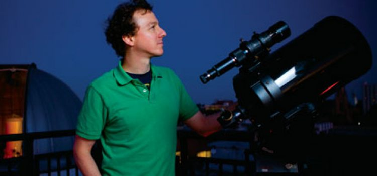 "Astronomer's Research on Stars and the Birth of Planets Appears in ""Nature"""