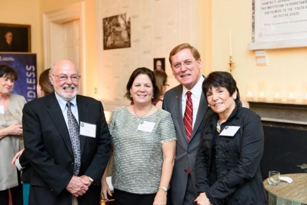 Tap XX, Catherine Smith, President Glenn F. McConnell and YY.