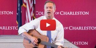 CofC Dad And Presidential Candidate Martin O'Malley Sings 'Scare Away the Dark'