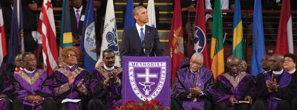 President Barack Obama, College of Charleston