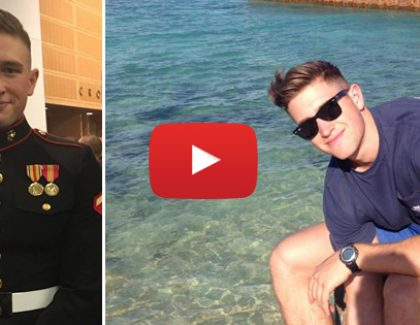 Student Wins Prestigious Marine Corps Commandant's Trophy