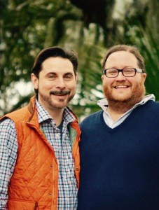 Rodney Vaughn and Luke Cleveland '01, founders of Coastal Stage Productions.