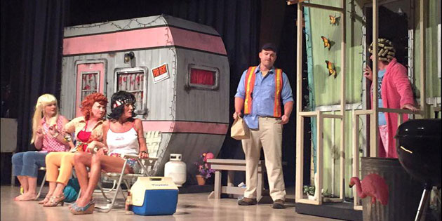 """A scene from """"The Great American Trailer Park Musical."""""""