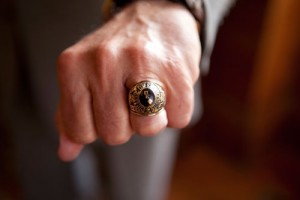President McConnell's class ring from 1969.