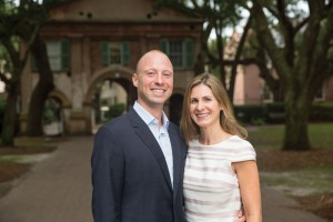 Ben '02 and Sara Givler DeWolf '02 established the R.I.S.E. Endowed Scholarship Fund in 2014 to provide four-year needs-based Honors College scholarships.