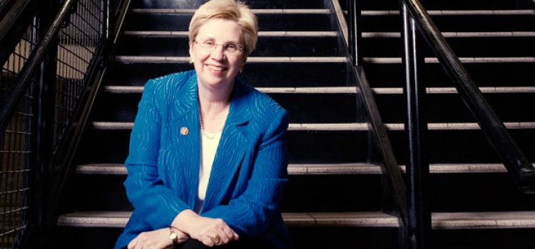 College Mourns Loss of Alumna Lucy Beckham '70