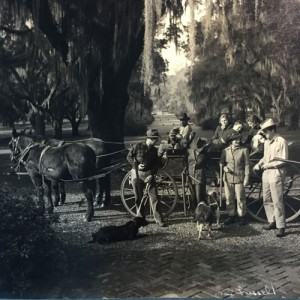Legendre and company at Medway Plantation, as photographed by Toni Frissell.