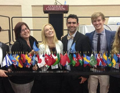 CofC Students Win Big at Model U.N. Competition