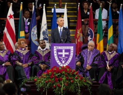 After Tragedy, Professors Reflect on Obama Eulogy, Emanuel A.M.E. Church