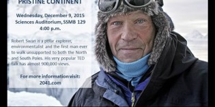 Polar Explorer Robert Swan to Speak at CofC