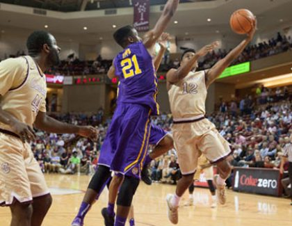 Video and Photos of CofC's Upset of LSU