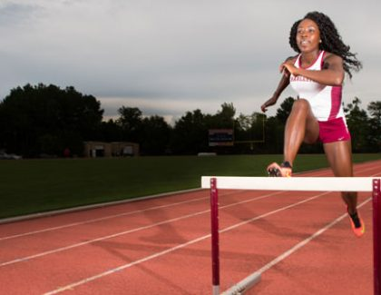 Senior Hurdler Has Swift Start in 2016