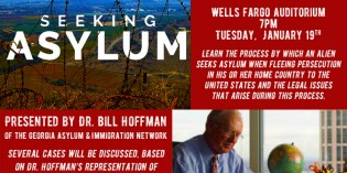 Campus Community to Learn About Asylum Law and Human Rights