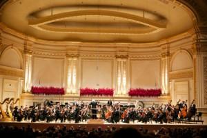 Carnegie Hall's Opening Night Gala Concert in Stern Auditorium / Perelman Stage, Performance by Berliner Philharmoniker. Photo: Julie Skarratt