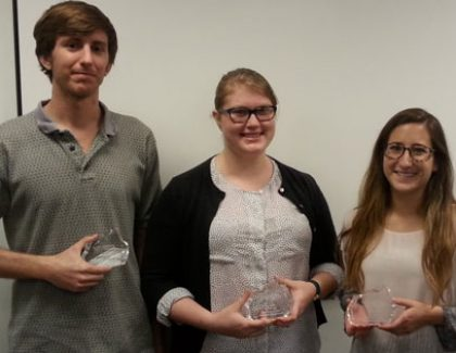 Undergraduates Win Data Science Contest